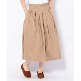 (BEAVER/ビーバー)GRANDMA MAMA DAUGHTER/グランママドーター プリーツスカート/レディース BEIGE