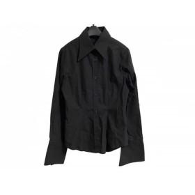 【中古】 ナラカミーチェ NARACAMICIE 長袖シャツブラウス サイズ0 XS レディース 黒 刺繍