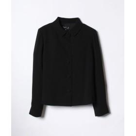 (agnes b./アニエスベー)U700 VESTE ジャケット/レディース ブラック 送料無料