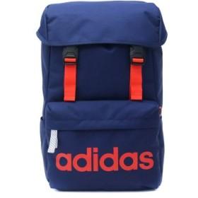 (GALLERIA/ギャレリア)アディダス リュック adidas バッグ スクールバッグ リュックサック デイパック かぶせ型 20L 47893/ユニセックス ネイビー
