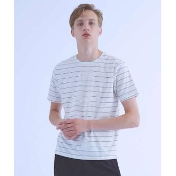 (ABAHOUSE/アバハウス)【ノンストレス】圧着クルーネックTシャツ/メンズ レッド系その他1 送料無料