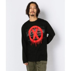 (LHP/エルエイチピー)MADDICT/マディクト/Remake L/S T-Shirts/メンズ BLACK