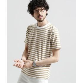 (nano・universe/ナノ・ユニバース)半袖ボーダーインナーTシャツ/メンズ パターン3