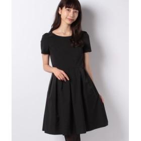 (MISS J/ミス ジェイ)Jタフタ ドレス/レディース ブラック