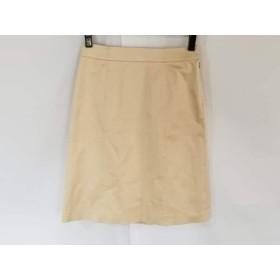 【中古】 ハロッズ HARRODS スカート サイズ2 M レディース ライトブラウン
