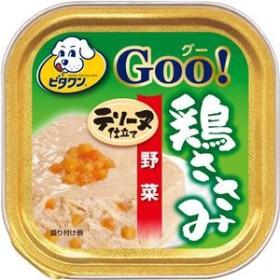 (まとめ)ビタワン グー 鶏ささみ テリーヌ仕立て 野菜 100g【×96セット】【ペット用品・犬用フード】