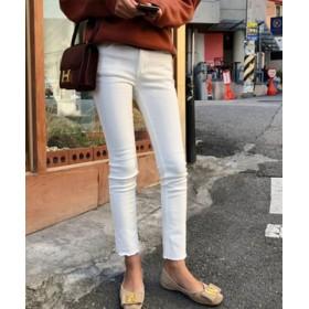 (3rd Spring/サードスプリング)N.Vogue(エヌヴォーグ)起毛スキニーパンツ/レディース アイボリー 送料無料