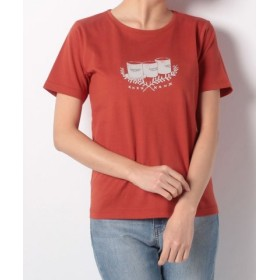(McGREGOR/マックレガー)【一部店舗限定】アメリカンカジュアル ロゴTシャツ/レディース オレンジ