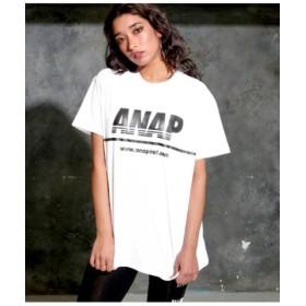 (ANAP/アナップ)ANAPロゴプリントTシャツ/レディース IV