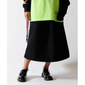 (KANGOL REWARD/カンゴールリワード)【レディース】KANGOL REWARD カラーライトツイルスカート/レディース ブラック 送料無料