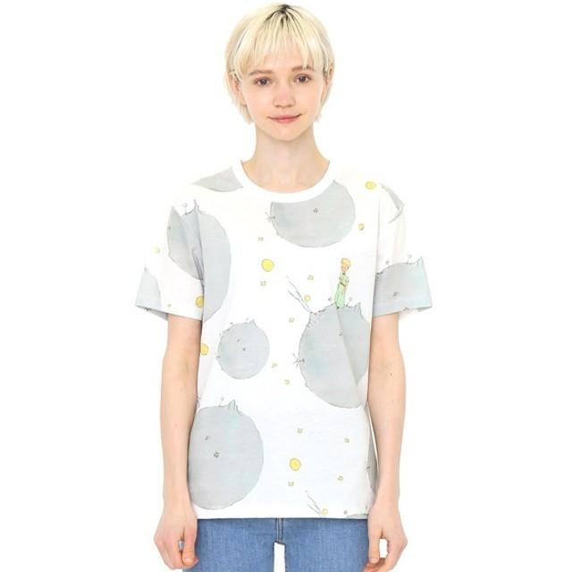 [マルイ] 【ユニセックス】コラボレーションTシャツ/星の王子さまと小惑星パターン(星の王子さま)/グラニフ(graniph)