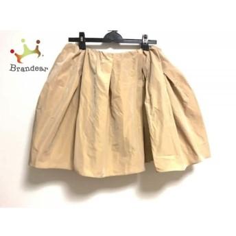 カルヴェン CARVEN スカート サイズ40 M レディース ベージュ スペシャル特価 20190905