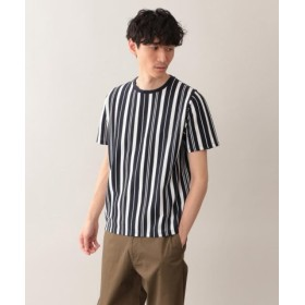 (MACKINTOSH PHILOSOPHY/マッキントッシュ フィロソフィー)サーフニットストライプ MPクルーネック半袖Tシャツ/メンズ ネイビー