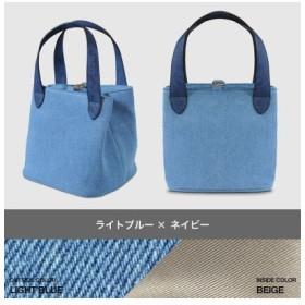 (kalie/カリエ)主役級デニムバッグ cube bag denim/レディース ライトブルー系1