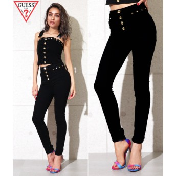 ANAP(アナップ)GUESS STUDDED BLACK 1981 SKINNY