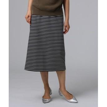 FAIRY SHADE グログランボーダースカート