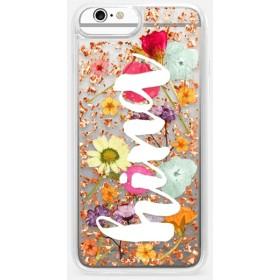 CASETiFY iPhone 6 Plus ケース iphone iPhone 6 Plus ケース 押し花 iPhone ケース プレスドフラワー iPhone カバー プレス