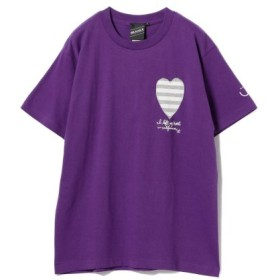 (BEAMS MEN/ビームス メン)【SPECIAL PRICE】BEAMS T/Left My Heart Tee/メンズ PURPLE