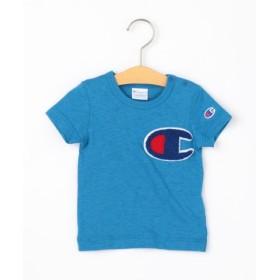 (SHIPS KIDS/シップス キッズ)Champion:【SHIPS KIDS別注】ビッグ ロゴ TEE(80-90cm)/レディース ブルー