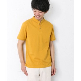 (URBAN RESEARCH OUTLET/アーバンリサーチ アウトレット)【DOORS】鹿の子StandPolo/メンズ イエロー系