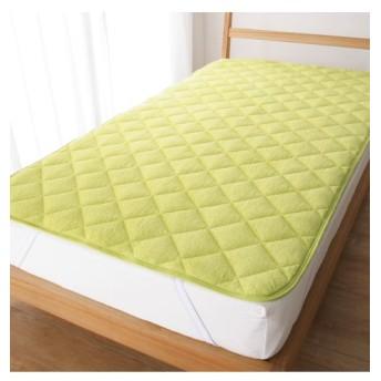 綿100%タオル地敷パッド 敷きパッド・ベッドパッド