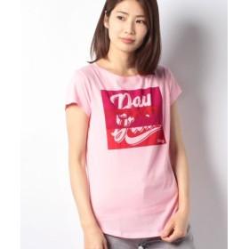 12f54af99fca4 (SISLEY シスレー)プリント半袖Tシャツ・カットソー レディース ライトピンク