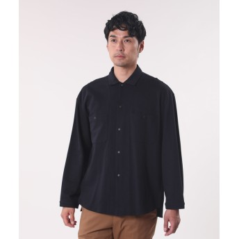 【PLST】THYARD カノコオーバーシャツジャケット Men