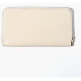 (TOMORROWLAND/トゥモローランド)glazing goatskin/long ウォレット/メンズ オフホワイト 送料無料