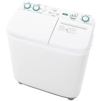 AQW-N40-W 2槽式洗濯機 ホワイト [洗濯4.0kg]