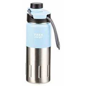 パール金属 水筒 500ml 直飲み パウダーブルー チャージャー ダイレクトボトル トレック HB-4542