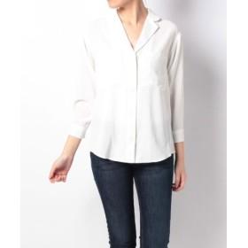 (URBAN RESEARCH OUTLET/アーバンリサーチ アウトレット)【UR】オープンカラーシャツ/レディース オフホワイト 送料無料