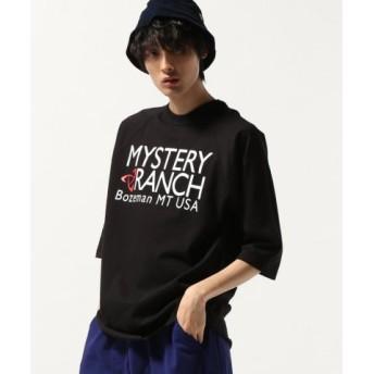 (JOURNAL STANDARD/ジャーナルスタンダード)MYSTERY RANCH/ミステリーランチ : BASEBALL TEE/メンズ ブラック 送料無料