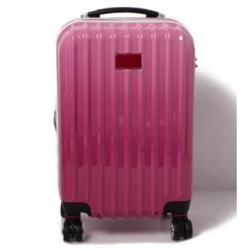 (BENETTON (UNITED COLORS OF BENETTON)/ベネトン(ユナイテッド カラーズ オブ ベネトン))【S】ベネトンジッパー付きキャリーケース・スーツケース機内持込可容量約36LTSAロック/レディース ピンク