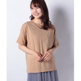 (DAISY MERRY/デイジーメリー)天竺ポケ付VネックTシャツ/レディース ベージュ