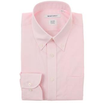 【THE SUIT COMPANY:トップス】【SUPER EASY CARE】ボタンダウンカラードレスシャツ 無地 〔EC・FIT〕