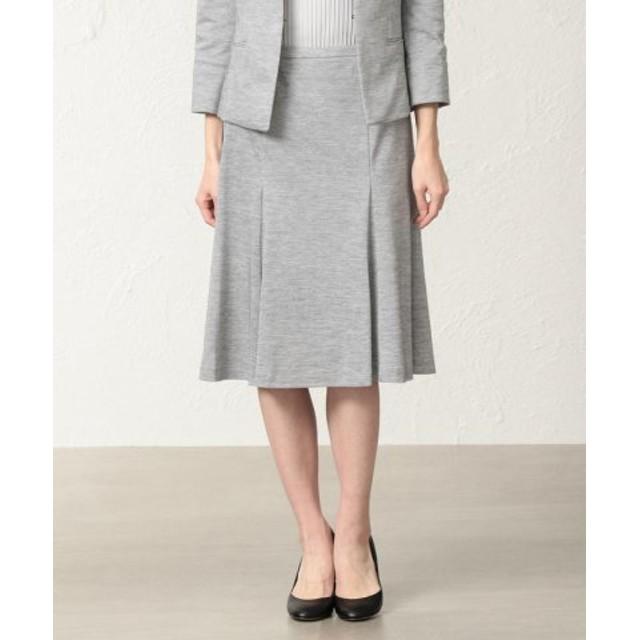 (TRANSWORK/トランスワーク)【美Skirt】【セットアップ対応】ラミーカノコスカート/レディース グレー