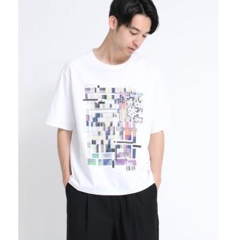 tk.TAKEO KIKUCHI / ティーケー タケオキクチ モザイクアートTシャツ