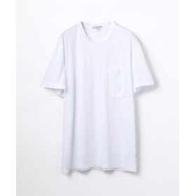 (TOMORROWLAND/トゥモローランド)コットン ポケット付きTシャツ MSX3349G/メンズ 11ホワイト