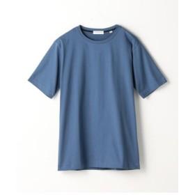 (TOMORROWLAND/トゥモローランド)スヴィンジャージー クルーネックTシャツ/メンズ 65ブルー