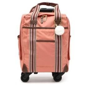 (GALLERIA/ギャレリア)カナナプロジェクト コレクション kanana project COLLECTION ソフトトローリー 機内持ち込み スーツケース 12L 1泊 48987/レディース ピンク