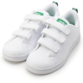 (HusHusH(kids)/ハッシュアッシュキッズ)adidas キッズスニーカー(17.0cm-19.0cm)/レディース ホワイト(001)