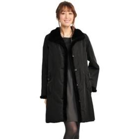 (sankyoshokai/サンキョウショウカイ)ファーレッキス リバーシブル コート 90cm/レディース ブラック