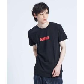 (ABAHOUSE/アバハウス)【CEIZER】METRO ロゴプリントTシャツ/メンズ ブラック