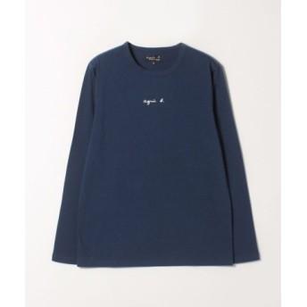 (agnes b./アニエスベー)【WEB限定】S179 TS ロゴTシャツ/メンズ ネイビー系 送料無料