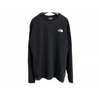 【中古】 ノースフェイス THE NORTH FACE 長袖Tシャツ サイズL メンズ 黒