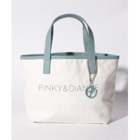 (Pinky & Dianne(BAG & WALLET)/ピンキーアンドダイアン(バッグ&ウォレット))ウォークトートバッグ/レディース アイスブルー 送料無料