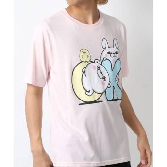 マルカワ ヨッシースタンプ 半袖Tシャツ メンズ 柄2 L 【MARUKAWA】