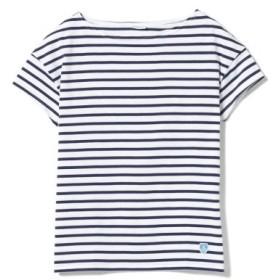 (BEAMS WOMEN/ビームス ウィメン)ORCIVAL/ボーダー Tシャツ/レディース WHITE/MARINE(EC)