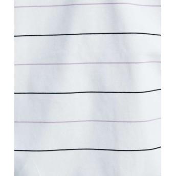 (ABAHOUSE/アバハウス)【ノンストレス】COTTON LYCRA圧着クルーネック半袖Tシャツ/メンズ パープル系その他1 送料無料