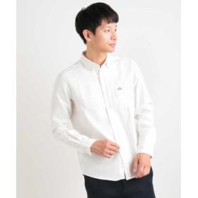 (a.v.v/アー・ヴェ・ヴェ)サンライトキモウボタンダウンシャツ[WEB限定サイズ]/メンズ ホワイト